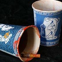 fakecardboardsculptures-teacups-tb